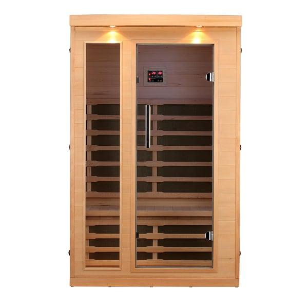 Huron 2-Person FIR Sauna with 8 Carbon Far Infrared Heaters
