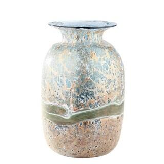 Artistic Multicolored Glass Vase