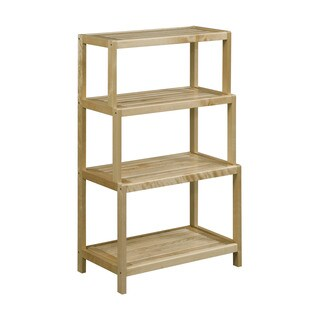 Somette Dunnsville 4-Tier Stepback Shelf