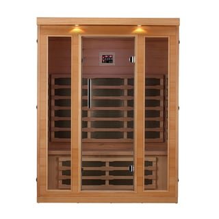 Canadian Spa Banff 3-Person FIR Sauna with 9 Carbon Far Infrared Heaters