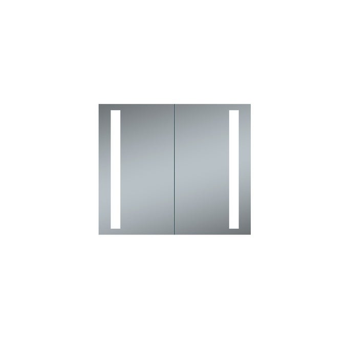 Led Recessed Double Door Lighted