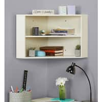 Simple Living Hanging Corner Hutch