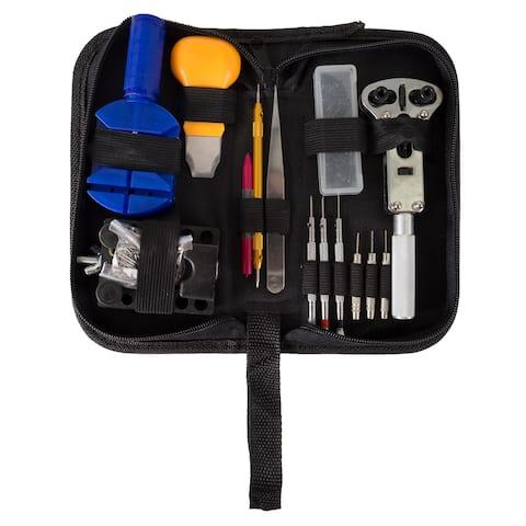 144 Piece Watch Repair Kit- Tool Set for Repairing Watches by Stalwart