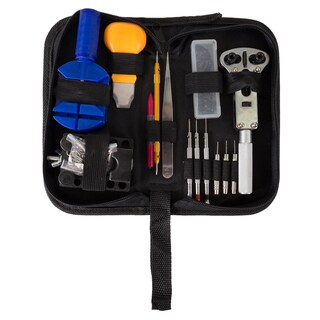 144 Piece Watch Repair Kit- Tool Set for Repairing Watches by Stalwart