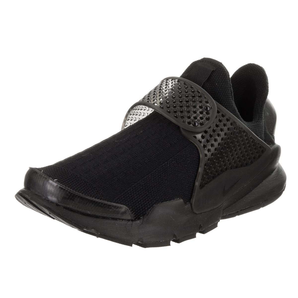 Nike Women's Sock Dart Black Synthetic Leather Running Sh...