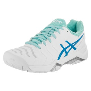 Asics Women's Gel-challenger 11 White Synthetic-leather Tennis Shoes