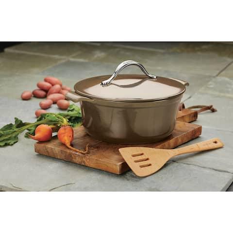 Anolon Vesta Cookware 7-quart Cast Iron Dutch Oven