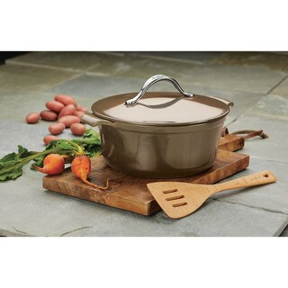 Anolon Vesta Cookware 7-quart Cast Iron Dutch Oven