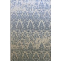 Dynamic Rugs Borgia Grey Wool Area Rug (5' x 8')