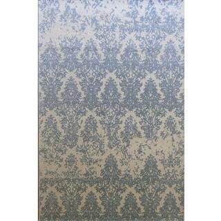 Dynamic Rugs Borgia Grey Wool Area Rug (5' x 8')