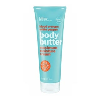 Bliss Blood Orange + White Pepper 6.7-ounce Body Butter Maximum Moisture Cream