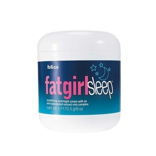Bliss FabGirlSleep 6-ounce Soothing Overnight Cream with An Encapsulated Extract Rich Complex