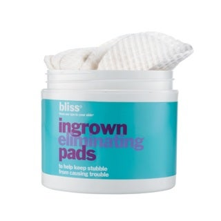 Bliss Ingrown Eliminating Pads To Help Keep Stubble From Causing Trouble (50 Pads)