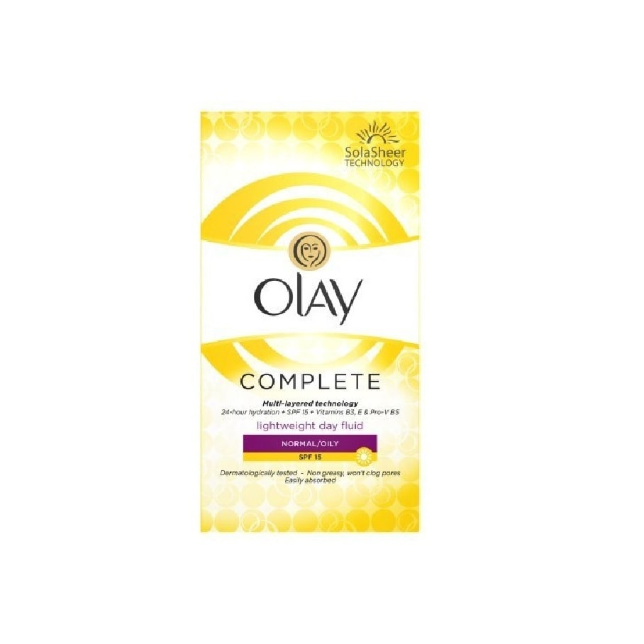 Olay Complete 3.4-ounce Lightweight Day Fluid for Normal/...
