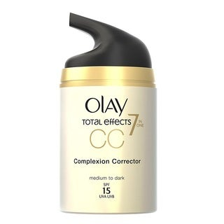 Olay Total Effects 7-in-1 1.7-ounce CC Cream Moisturizer + Complexion Corrector Medium to Dark SPF 15