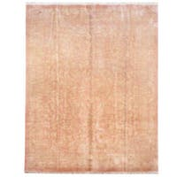 Herat Oriental Indo Hand-knotted Tibetan Wool Rug - 8' x 10'