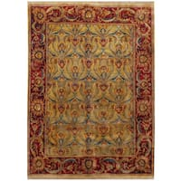 Herat Oriental Indo Hand-knotted Mahal Wool Rug (8'6 x 11'6) - 8'6 x 11'6