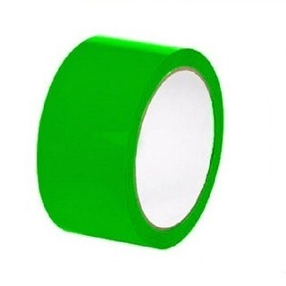 "Green Color Aisle Marking Tape 2"" X 36 Yards 7 mil 24 Rolls"