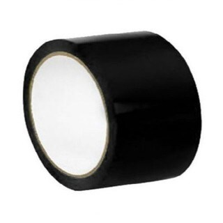 "24 Rolls 2"" X 36 Yards Black Color Aisle Marking Tape 7 Mil"