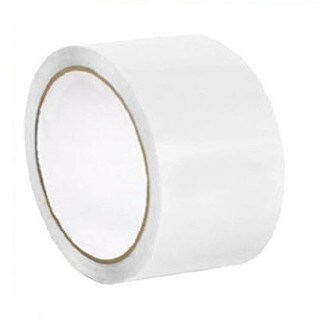 "2"" X 36 Yards White Color Aisle Marking Tape 7 mil 24 Rolls"