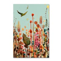 Sylvie Demers 'Learning To Fly (Blue Sky)' Canvas Art