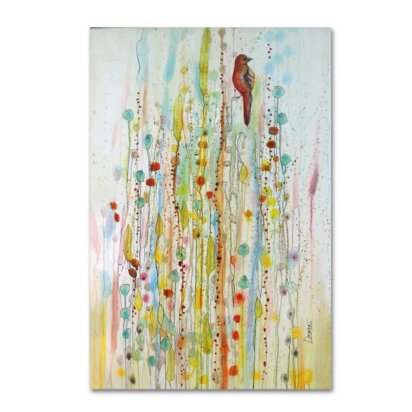 Sylvie Demers 'Pause 2' Canvas Art