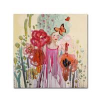 Sylvie Demers 'Les Temps Presents' Canvas Art