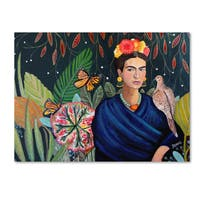 Sylvie Demers 'Frida' Canvas Art
