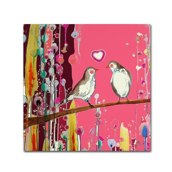 Sylvie Demers 'Valentin 2' Canvas Art