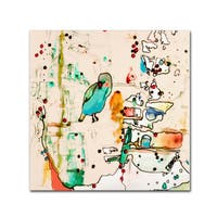 Sylvie Demers 'Palm Spring' Canvas Art