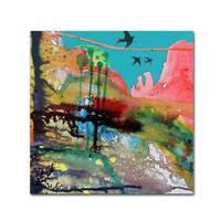 Sylvie Demers 'Adventure' Canvas Art