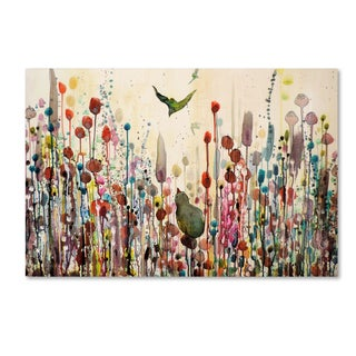 Sylvie Demers 'Learning To Fly' Canvas Art
