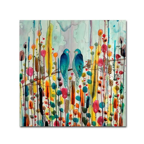 Sylvie Demers 'We' Canvas Art