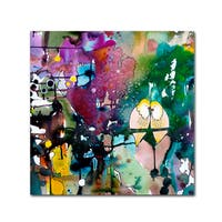 Sylvie Demers 'This Day ' Canvas Art