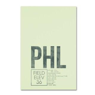 08 Left 'PHL ATC' Canvas Art