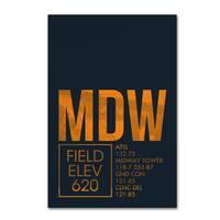 08 Left 'MDW ATC' Canvas Art