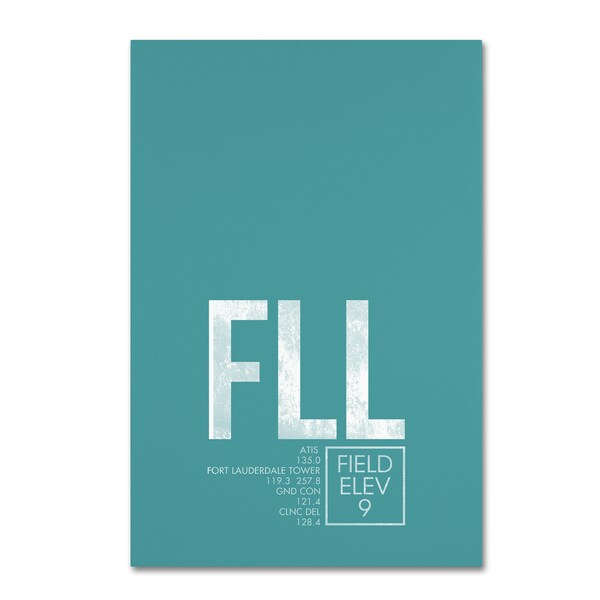 08 Left 'FLL ATC' Canvas Art