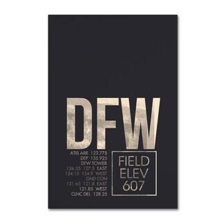 08 Left 'DFW ATC' Canvas Art