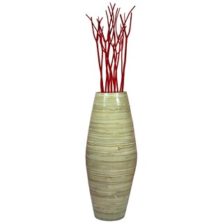 "27.5"" Tall Bamboo Floor Vase"