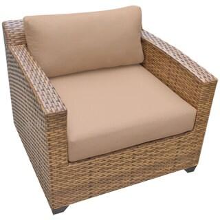 Outdoor Home Bayou Wicker Outdoor Patio Club Chair