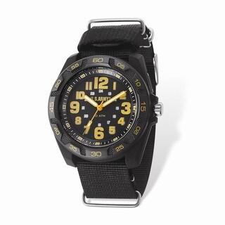 US Army Wrist Armor Lighted Black Dial & Black Nylon Strap Watch