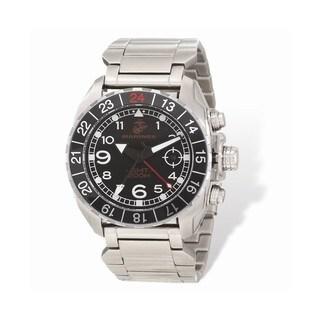 US Marines Wrist Armor C3 Stainless Steel Swiss GMT Watch