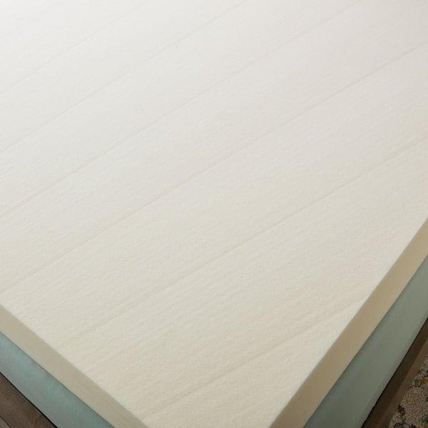 Serta Ultimate 4 inch Visco Memory Foam Mattress Topper Free