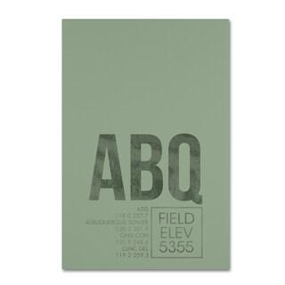 08 Left 'ABQ ATC' Canvas Art