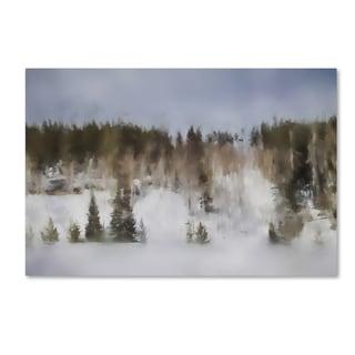 Jai Johnson 'Winter Impressions In Colorado 8' Canvas Art