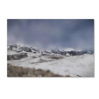 Jai Johnson 'Winter Impressions In Colorado 5' Canvas Art