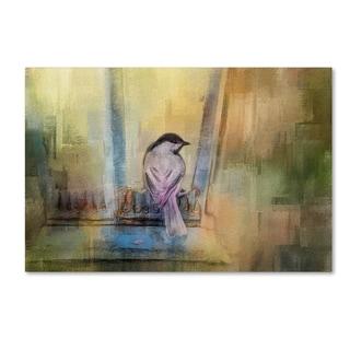 Jai Johnson 'Waiting In The Window' Canvas Art