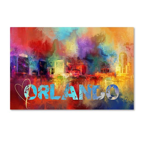 Jai Johnson 'Sending Love To Orlando' Canvas Art