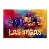 Jai Johnson 'Sending Love To Las Vegas' Canvas Art