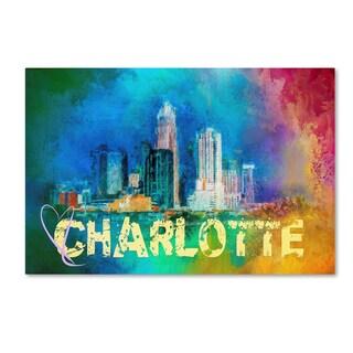 Jai Johnson 'Sending Love To Charlotte' Canvas Art